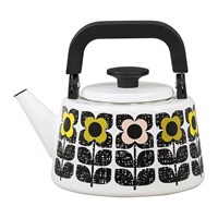 Orla Kiely Enamel Scribble Square Kettle Multi
