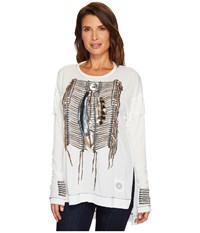 Double D Ranchwear The Warrior Top String Women's Clothing Neutral
