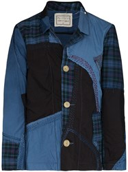 By Walid Harry Patchwork Shirt Jacket 60