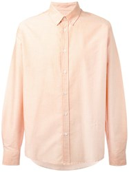 Soulland Goldsmith Shirt Yellow Orange