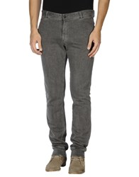 Original Vintage Style Trousers Casual Trousers Men Grey