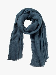 Fat Face Poppy Brushed Scarf Teal