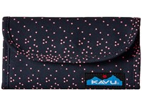 Kavu Big Spender Hot Dots Wallet Handbags Brown