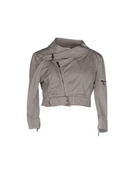 Pf Paola Frani Coats And Jackets Jackets Women Grey