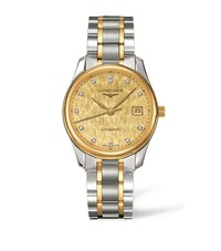 Longines Master Collection Date Watch Unisex Gold