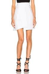 Alexandre Vauthier Crepe Skirt In White