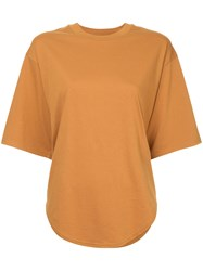 Cityshop Classic Short Sleeve T Shirt Brown
