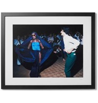 Sonic Editions Framed Grace Jones At Studio 54 Print 16 X 20 Black