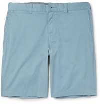 J.Crew Stanton Stretch Cotton Twill Chino Shorts Blue
