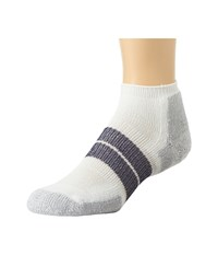 Thorlos 84N No Show Single Pair White Men's No Show Socks Shoes