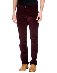 Ralph Lauren Black Label Casual Pants Deep Purple