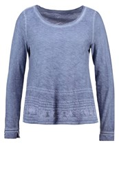 Gap Long Sleeved Top True Indigo Dark Blue