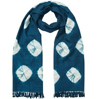 East Bandhini Wool Scarf Ensign