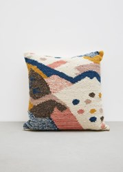 Minna Cartographer Pillow Multicolored