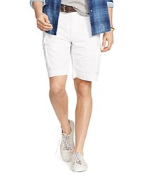 Polo Ralph Lauren Relaxed Fit Chino Cargo Shorts White