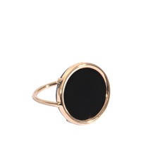 Ginette_Ny Black Onyx Disc Ring