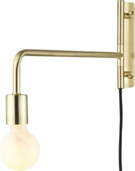 Cb2 Swing Arm Brass Wall Sconce