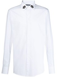 Dolce And Gabbana Long Sleeve Shirt White