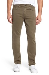 Mavi Jeans Men's Myles Straight Leg Twill Pants Dusty Olive Twill