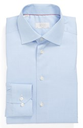 Eton Men's Big And Tall Slim Fit Dress Shirt Blue