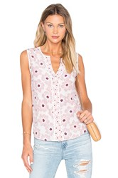 Kate Spade Hollyhock Sleeveless Shirt Pink