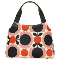 Orla Kiely Scallop Flower Shoulder Bag Pink Multi