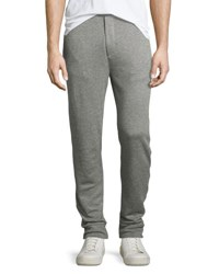 Ralph Lauren Ribbed Modal Pima Cotton Jogger Pants Gray