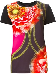 Manish Arora Flower Print T Shirt Multicolour