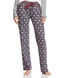 Pj Salvage Fair Isle Pants Charcoal