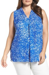 Vince Camuto Plus Size Women's Print Shell