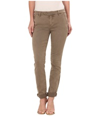 Level 99 Becca Slim Trousers In Burnt Almond Burnt Almond Women's Jeans Brown