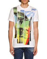 Dsquared American Road Trip Graphic T Shirt White