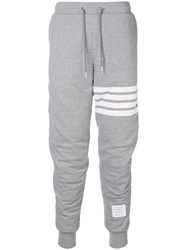 Thom Browne Articulated Loopback Sweatpants Grey