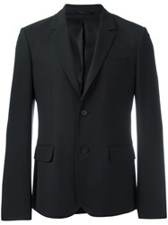 Carven Flap Pocket Blazer Black