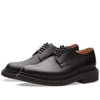 Grenson X Nick Wooster Nw2 Crepe Sole Derby Shoe Black
