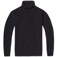 Mhl By Margaret Howell Mhl. By Margaret Howell Merino Roll Neck Black