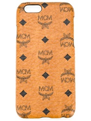 Mcm 'Visetos' Iphone 6 Cover Brown