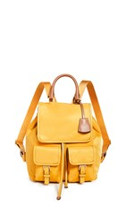 Tory Burch Perry Nylon Backpack Golden Crest