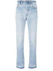 Re Done Bootcut Jeans Blue