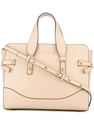 Marc Jacobs Small The Rivet Tote Bag Women Leather One Size Nude Neutrals