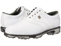 Footjoy Dryjoys Tour White White Croc Men's Golf Shoes