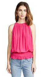 Ramy Brook Sleeveless Lauren Top Rose