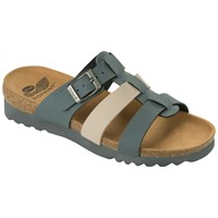 Scholl Kalea Triple Strap Sandals Grey Mixed