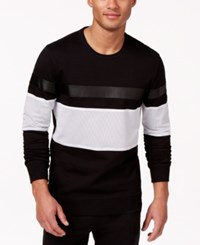 Inc International Concepts Danada Colorblocked Multimedia Sweatshirt Only At Macy's
