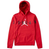 Nike Jordan Brand Flight Fleece Graphic Hoody Red
