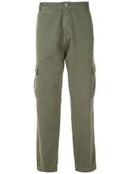 Osklen Straight Fit Cargo Trousers Green
