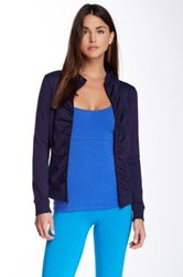 Solow Mesh Panel Jacket Blue
