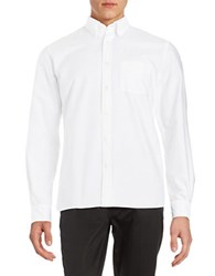 Brooks Brothers Cotton Sportshirt White