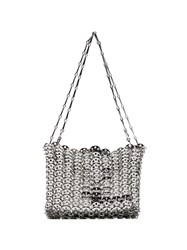 Paco Rabanne Iconic 1969 Shoulder Bag Silver