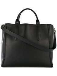 Ann Demeulemeester Open Top Tote Bag Black